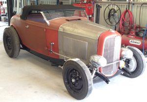 Paul Mortimer 1932 Ford Roadster 2