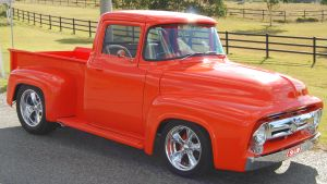 Peter Morgan's Ford F100 1