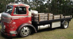 Tom Young's 1958 Commer Truck 2